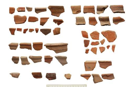Pottery Shards Dates to the Iron Age IIA (10th-9th century BCE)